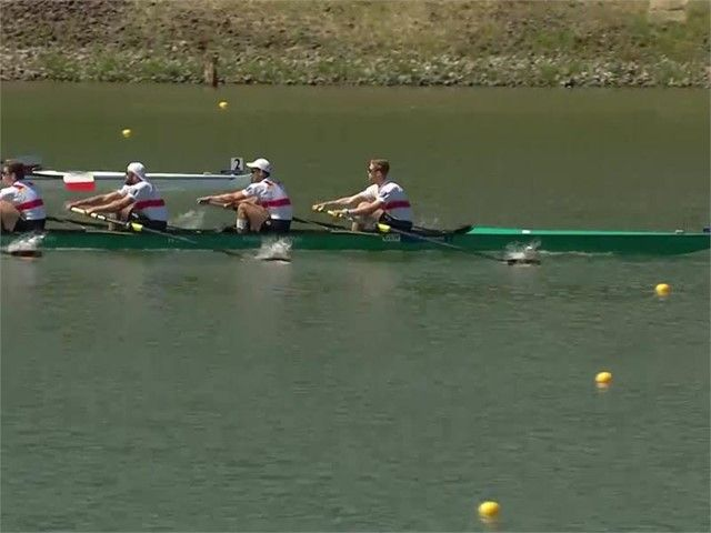 European Championships Mediahub Rowing Itv Erch17 Cze M8plus