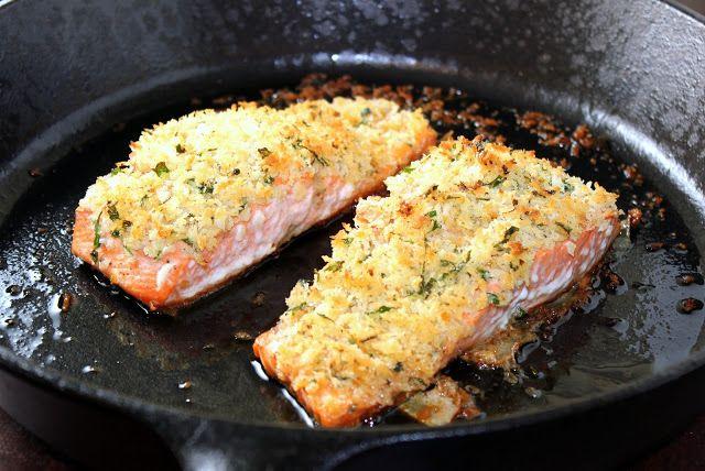 Panko Crusted Salmon | A Hint of Honey