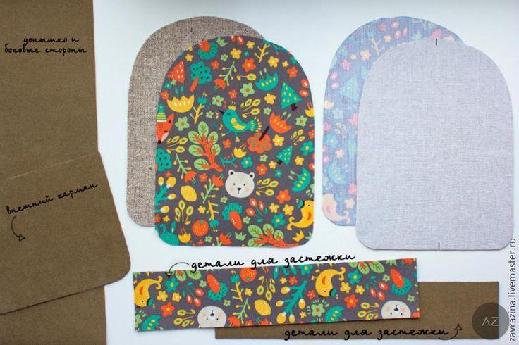 Шьем симпатичный детский рюкзак - Ярмарка Мастеров - ручная работа, handmade