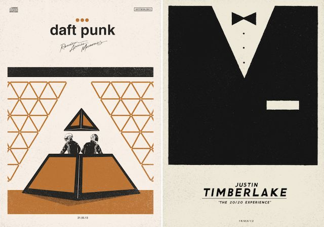 Creative Music Posters by Dawid Ryski