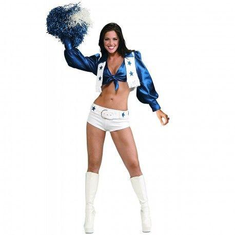 14,99 € IVA incluído http://www.misdisfraces.es/disfraces-y-complementos-de-mujeres-sexy/disfraz-de-animadora-americana-azul-708?search_query=mdht&results=78