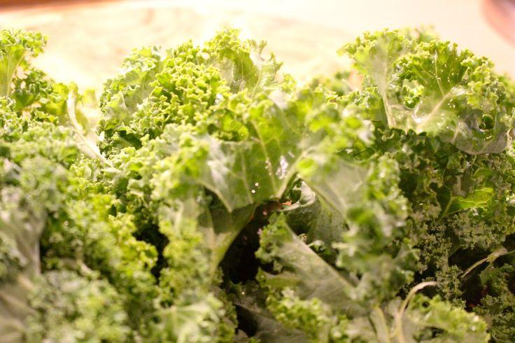 Preparing Kale // Crispy Baked Kale Chips Recipe // Paleo and gluten free  #thehisforblog