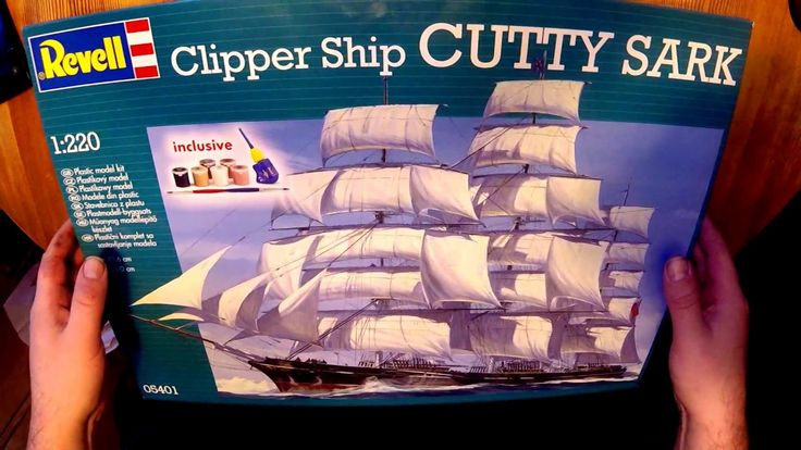Unboxing the Revell 1:220 Clipper Ship Cutty Sark