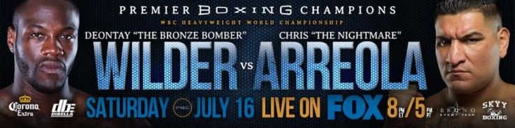World Champion Deontay Wilder Defends His Title Against Two-Time World Title Challenger Chris Arreola
