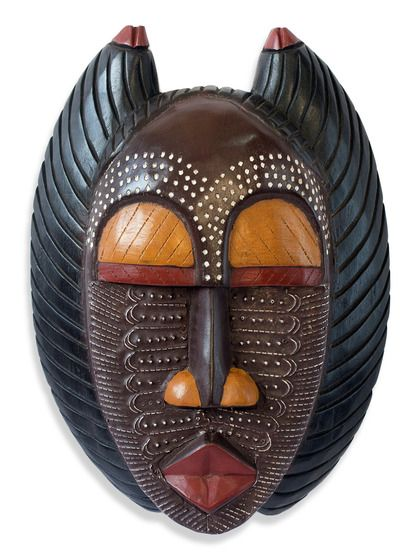 A Good Mother Ghanaian Mask