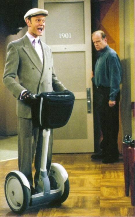 No one has ever made me laugh more than Niles Crane on Frasier