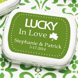 63 best StPatricks Day Wedding Ideas images on Pinterest