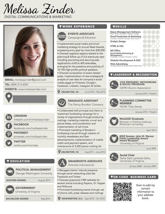 20 best images about cv resume on pinterest