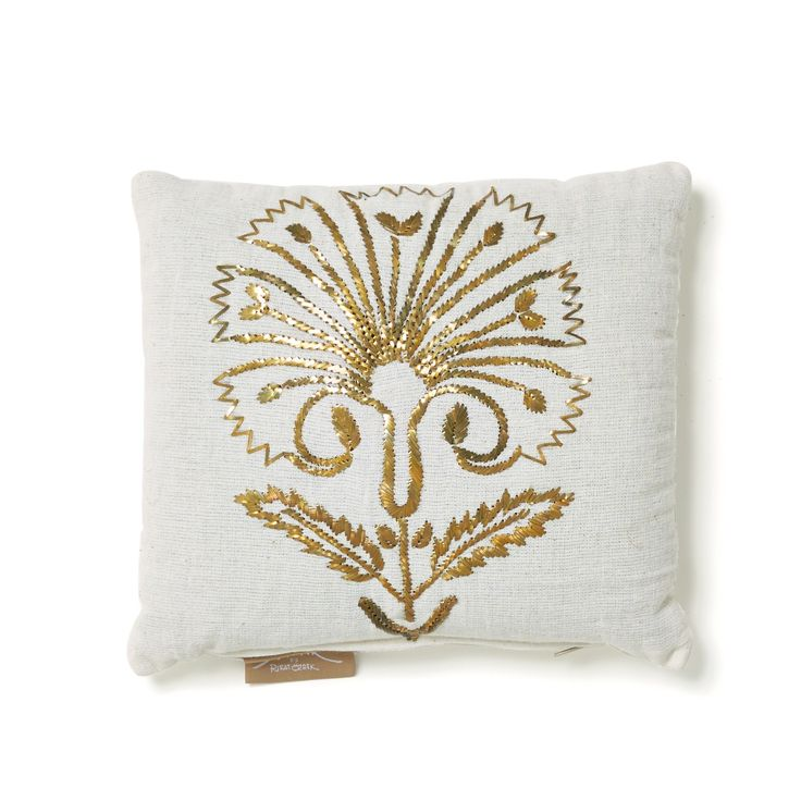 Tel Kirma Carnation Pillow $175