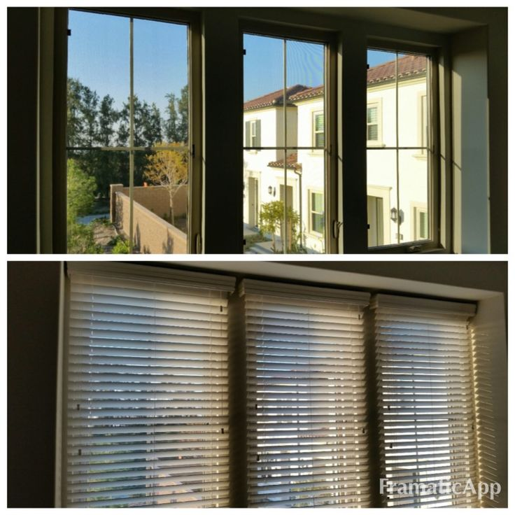 how to install cordless blinds - outside mount