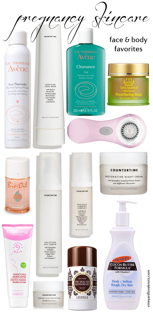 Pregnancy Skincare... natural products for face and body