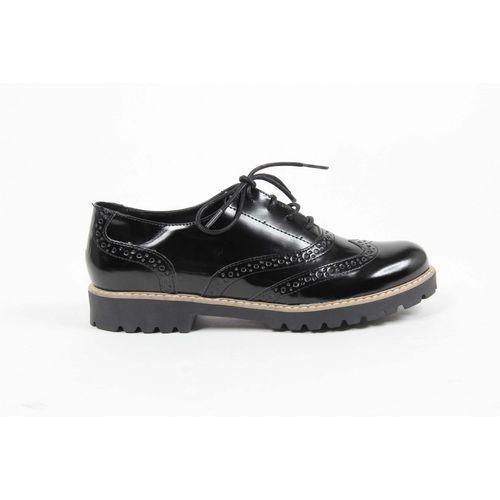 V 1969 Italia Womens Oxford Shoe MARGIE 5 ABRAS. NERO