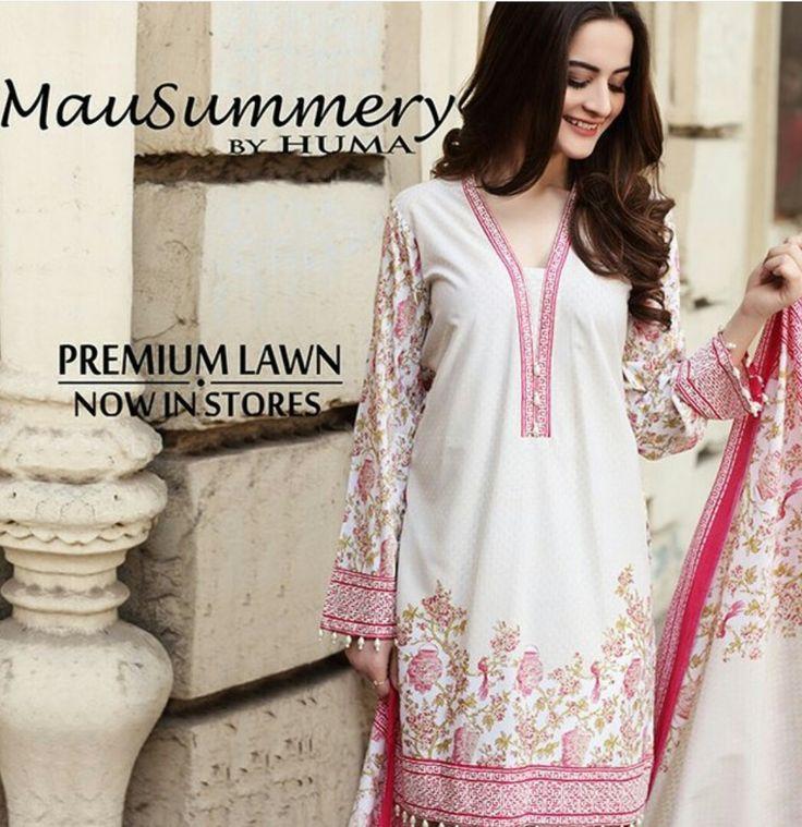 Elegant in its simplicity Serenity Rose is the Perfect Spring Look. Beautiful Aiman Khan Of Photoshoot For #MauSummeryByHuma! #Gorgeous #Elegant #LuxuryLawnCollection #White&Rose ##MauSummeryByHuma #SummerCasual #SummerEidCollection #EidCollection17 #PakistaniFashion #PakistaniCelebrities  ✨