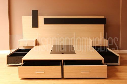 cabeceras de cama modernas juveniles buscar con google proyectos decoracin pinterest bedrooms wood beds and pallets