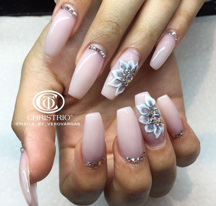 183 best 3d uñas images on Pinterest | Nail art, Acrylic nails and ...