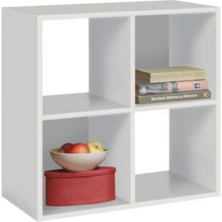 buy squares 4 cube unit white at your. Black Bedroom Furniture Sets. Home Design Ideas
