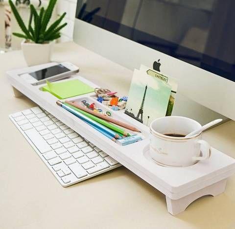 Die besten 17 ideen zu ordnung auf dem schreibtisch auf pinterest organisat - Sous main bureau ikea ...