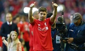Steven Gerrard's last game for Liverpool came on 16 May, 2015. He has since been playing for MLS side LA Galaxy.