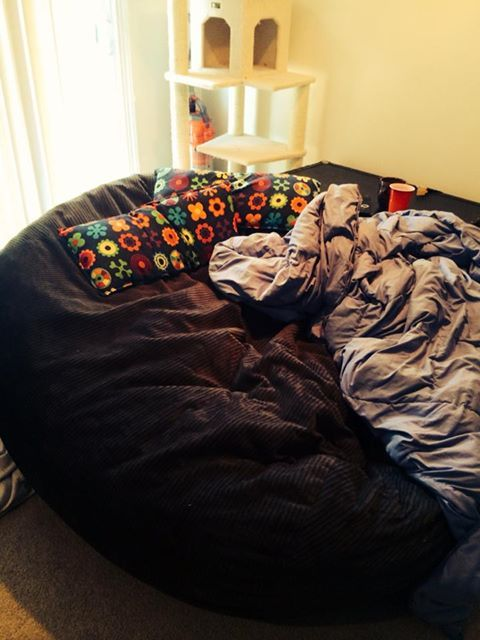 K Day 15 Sleep This Is My Huge 6ft Bean Bag Chair
