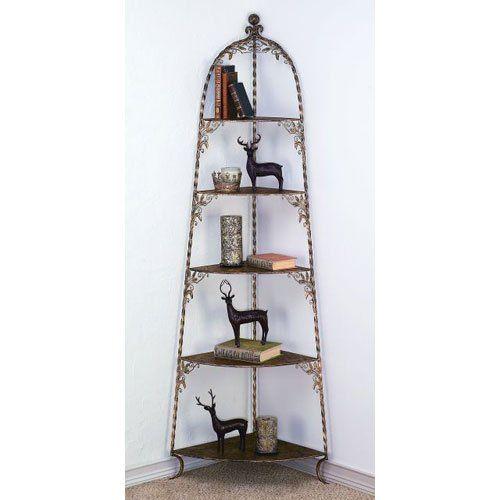 Dr. Livingstone I Presume Five Shelf Corner Display Unit >>> To view further, visit now : Corner Shelves