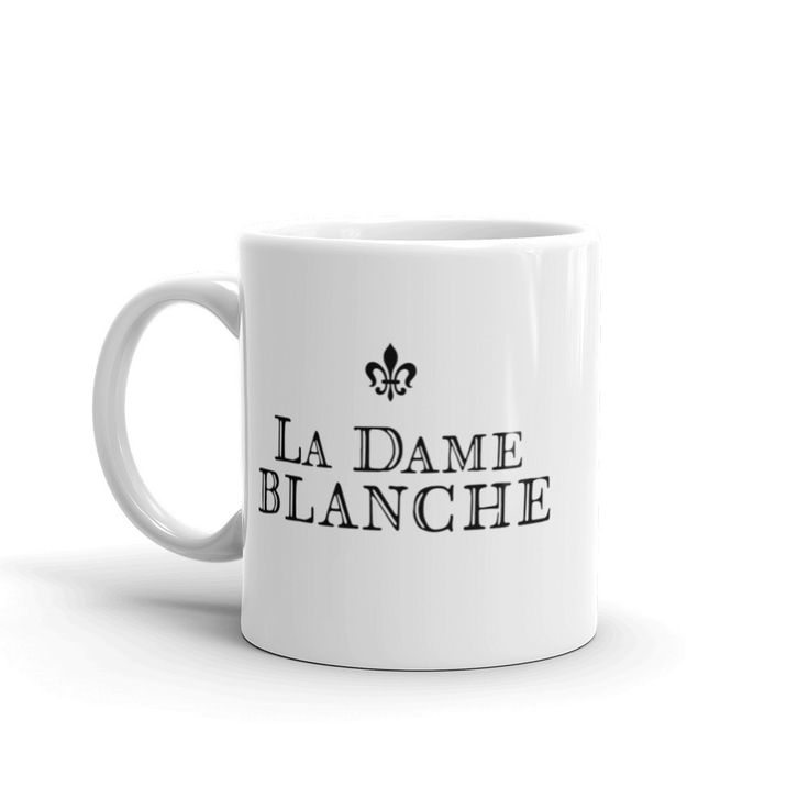 When in France, a little bit of mystery... or Cascara never hurt anyone. This sturdy white, glossy ceramic mug is an essential to your cupboard. This brawny version of ceramic mugs shows it's true col