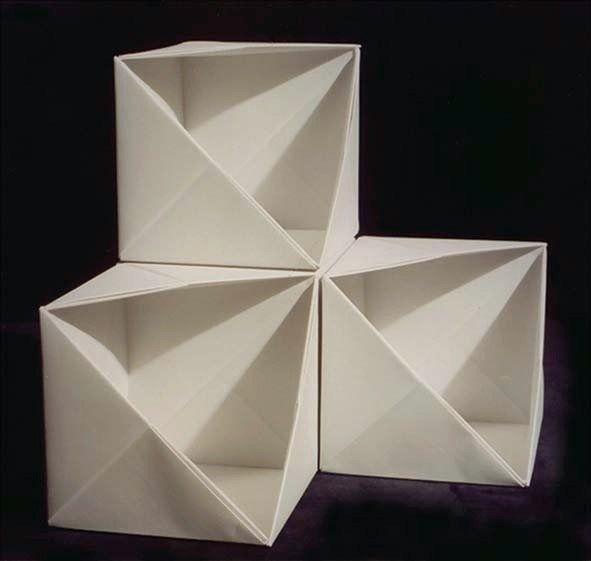 Origami Storage Bo Cube Me