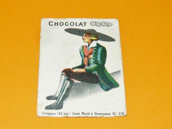 CHROMO CHOCOLATS COOP 1932 COSTUMES JEUNE Marié DOUARNENEZ BRETAGNE BREIZH | Collections, Objets publicitaires, Chromos, découpis | eBay!