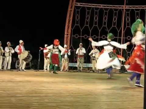 Festivali Folklorik i Gjirokastres 2009 Valle vajzash nga Tropoja