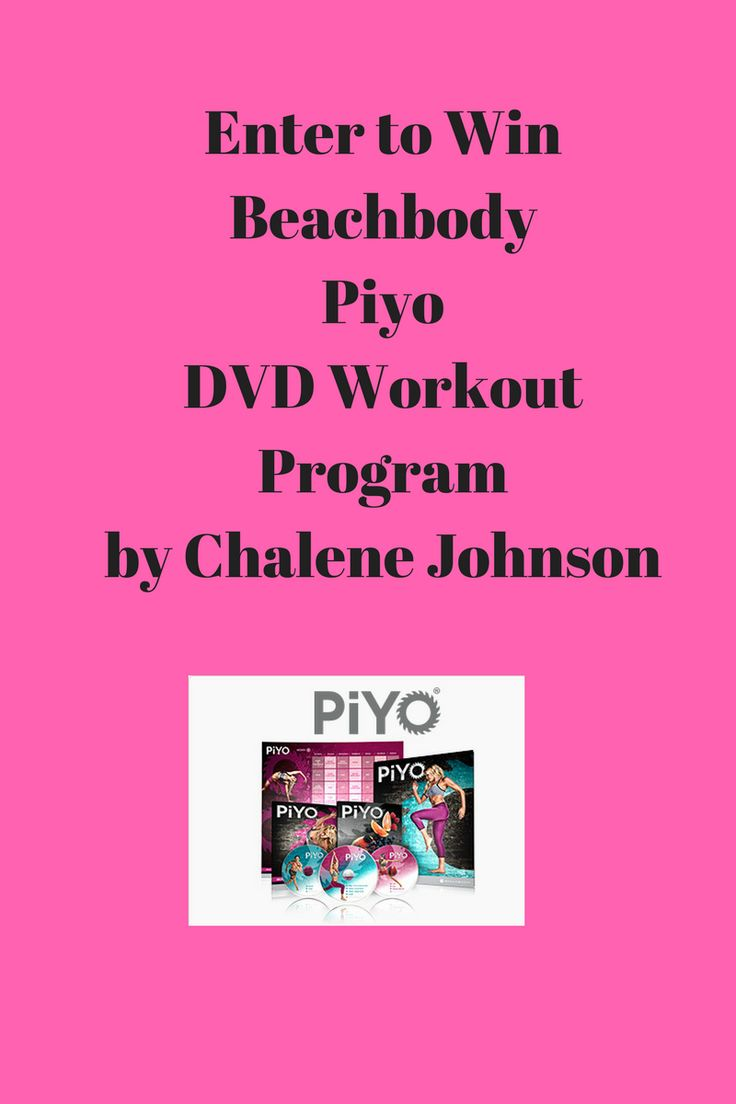 Enter to Win Beachbody Piyo DVD Workout Program by Chalene Johnson, contest ends March 13, 2017. Enter at http://www.fitlifeandsoul.com/giveaways/free-contest-beachbody-piyo-dvd-workout-program-by-chalene-johnson/ Get the results you want with Pilates and Yoga