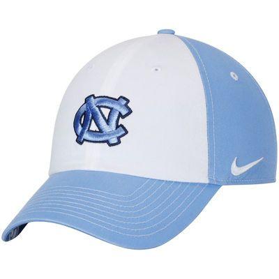 North Carolina Tar Heels Nike Women's Logo Adjustable Hat - White/Carolina Blue