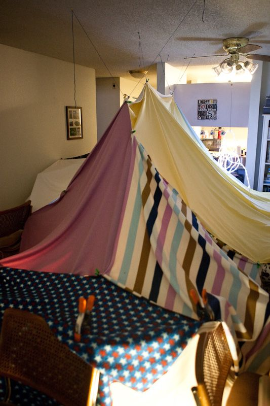 how to make the best blanket fort