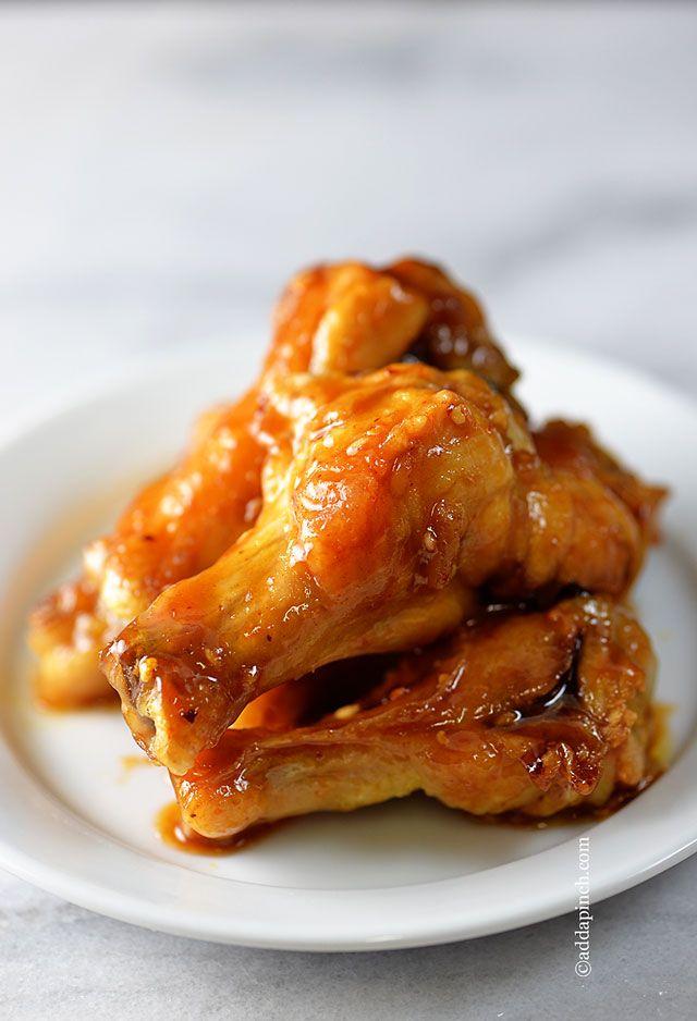Maple Glazed Chicken Wings