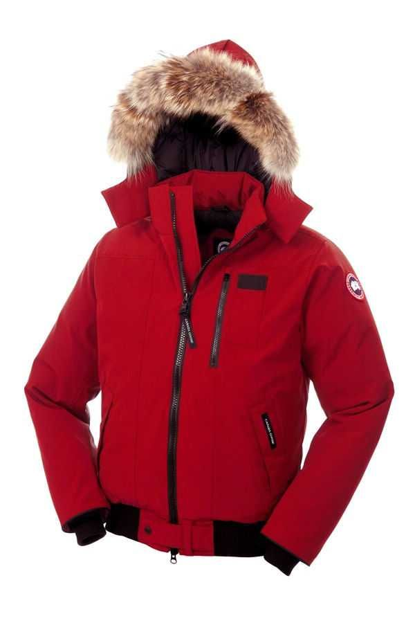 Canada Goose Borden Bomber Red Men's Jackets