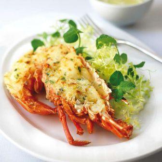 Ensenada Lobster Thermidor Recipe Guy Fieri Food Network | Lobster House
