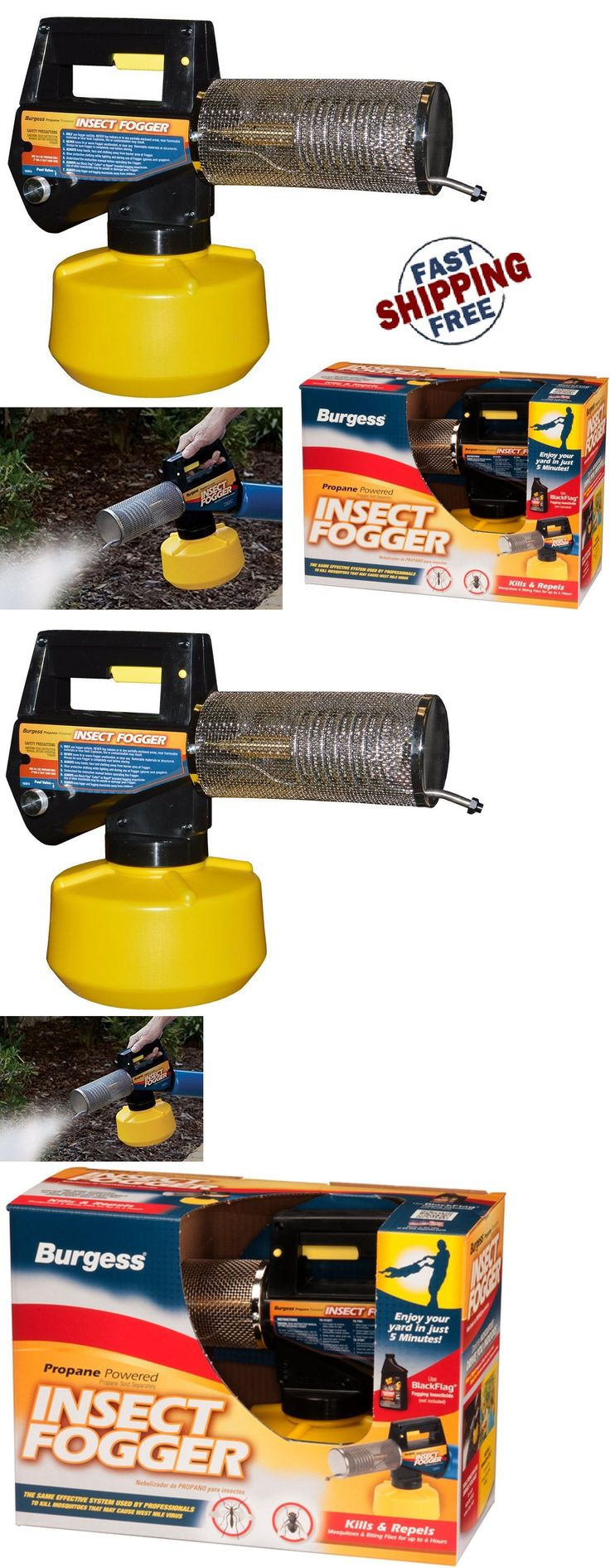 Foggers 181037: Propane Insect Fogger Portable Outdoor Garden Yard Bug Mosquito Pest Control -> BUY IT NOW ONLY: $82.88 on eBay!