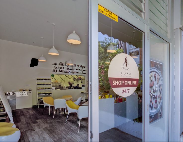 Take a virtual tour of the Luka Chocolates store http://bit.ly/1OcFgLi