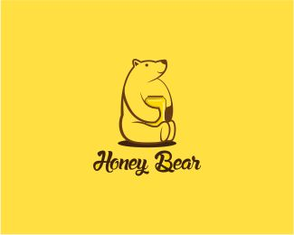 Honey Bear Designed by yafi | BrandCrowd
