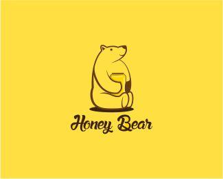 Honey Bear Designed by yafi | BrandCrowd
