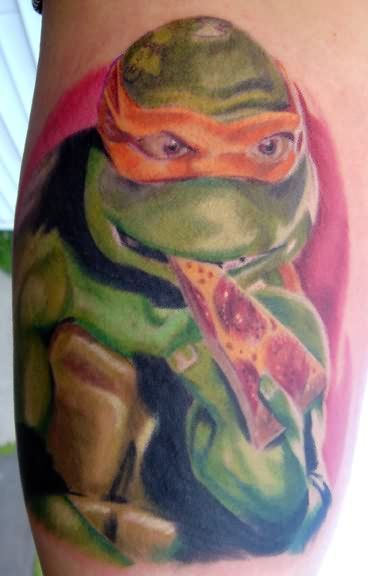 ninja turtle tattoo for brother