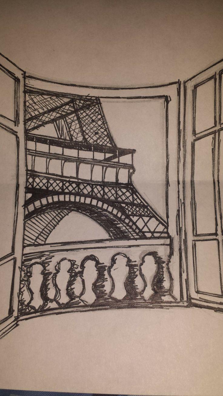 A window in Paris (Pen)
