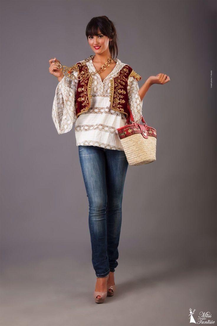 Traditional tunisian wedding dress   best Tunisian Artisans Fashion images on Pinterest  Caftans