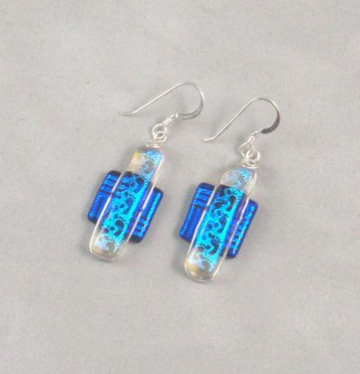 Fused Glass Earrings - Glass Illusions