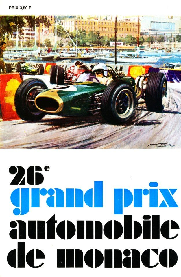 26th Grand Prix Automobile de Monaco.