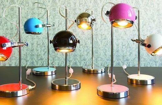 Kolekcja lampek na biurko Mini Retro