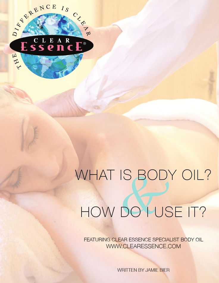 What is Body Oil  Have you ever used body oil on yourself? Do you Know the benefits that body oil has? Well read this and find out!