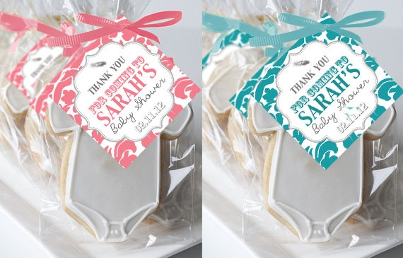 cute tags for baby shower goody bags