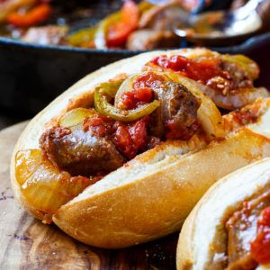 I'm sharing #SausageFamily in my life as part of a Johnsonville sponsored series for Socialstars™  This simple and delicious Italian Sausage and Peppers recipe is a breeze to whip up for a family meal. It's a classic meal that never gets old. Serve it over rice or pasta or stuff it into hoagie rolls …