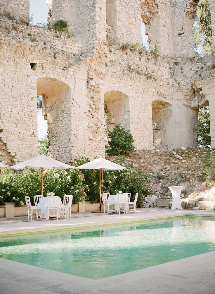 This French wedding has everything. Sink in the beauty of a chateau wedding in the midst of Lavender fields and olive groves, bathed in rays of sunlight. on http://www.bridestory.com/blog/private-wedding-in-chateau-grimaldi-france