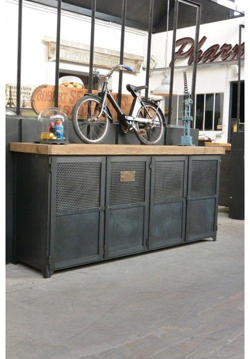 1000 ideas about meuble m tallique sur pinterest grille - Petit meuble metallique ...