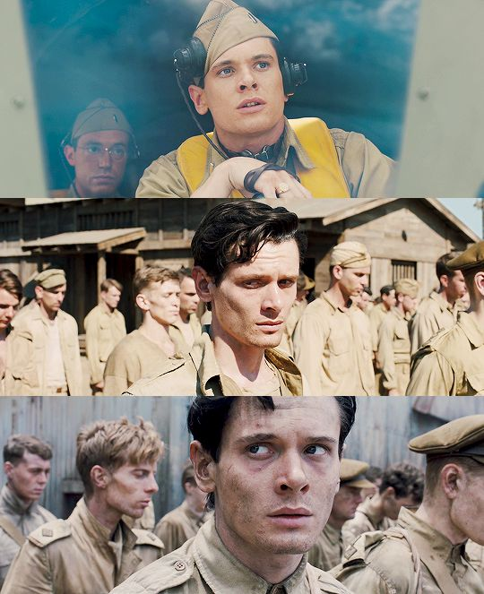 Jack O' Connell as Louis Zamperini - Unbroken (2014)